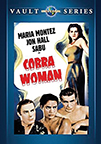 Cobra Woman dvd cover image