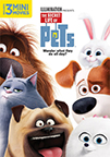 The Secret Life Of Pets dvd cover image