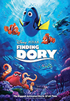 Finding Dory dvd cover image