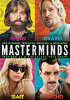 Masterminds dvd cover image