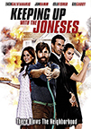Keeping Up With The Joneses dvd cover image