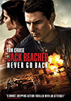 Jack Reacher: Never Go Back dvd cover image