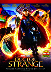 Doctor Strange (2016) dvd cover image
