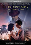 Rules Don't Apply dvd cover image