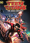 DCU Teen Titans: The Judas Contract dvd cover image