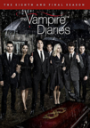 The Vampire Diaries: Season 8 dvd cover image