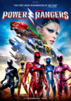 Power Rangers dvd cover image