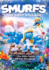 Smurfs: The Lost Village dvd cover image