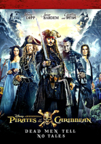 Pirates of the Caribbean: Dead Men Tell No Tales dvd cover image