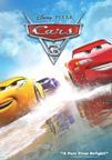 Cars 3 dvd cover image