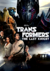 Transformers: The Last Knight dvd cover image