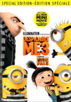 Despicable Me 3 dvd cover image