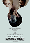 The Killing of a Sacred Deer dvd cover image