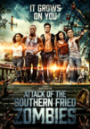Attack of the Southern Fried Zombies dvd cover image