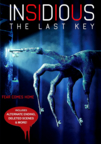 Insidious: The Last Key dvd cover image