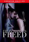 Fifty Shades Freed dvd cover image