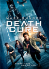 Maze Runner: The Death Cure dvd cover image